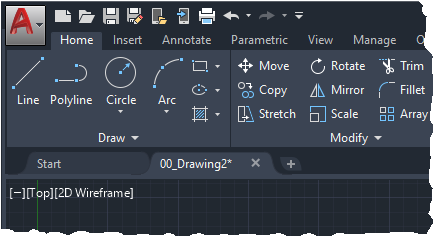 AutoCAD 2020 blog UI enhancements
