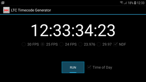 LTC timecode generator