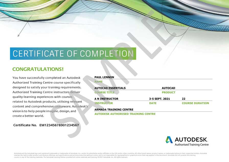 Autocad Training For Beginners At Approved Centres