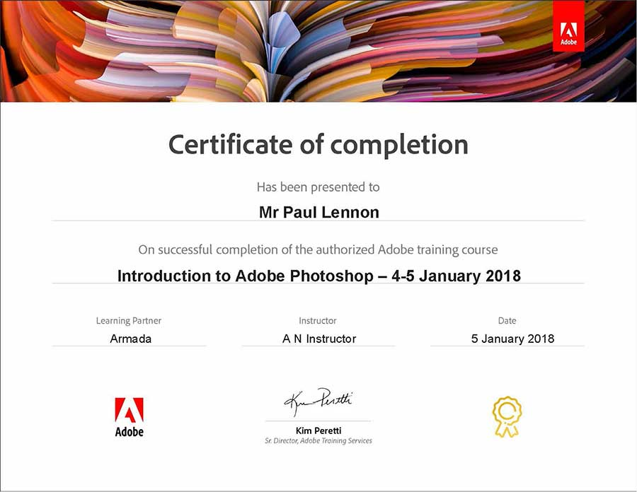 Photoshop Course For Beginners At Adobe Authorised Training Centres