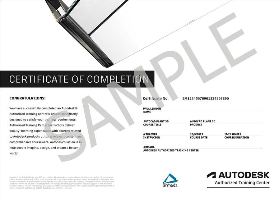autocad plant 3d training pdf