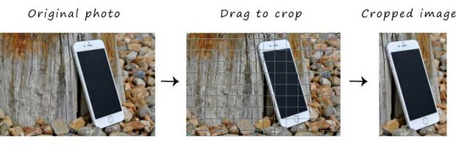 Photoshop cropping
