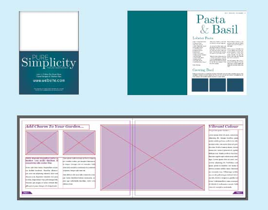 Why learn InDesign - design leaflets