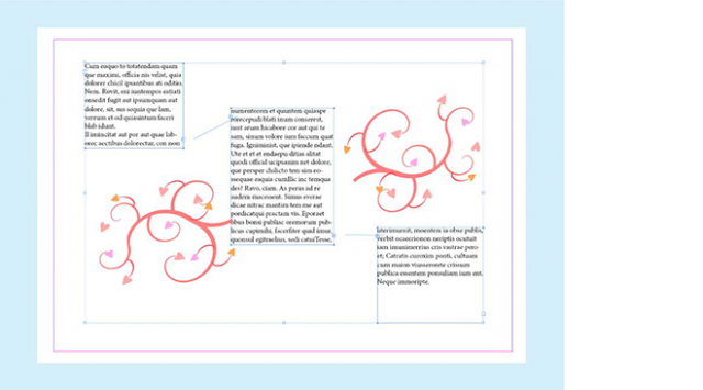 Why learn InDesign - threading