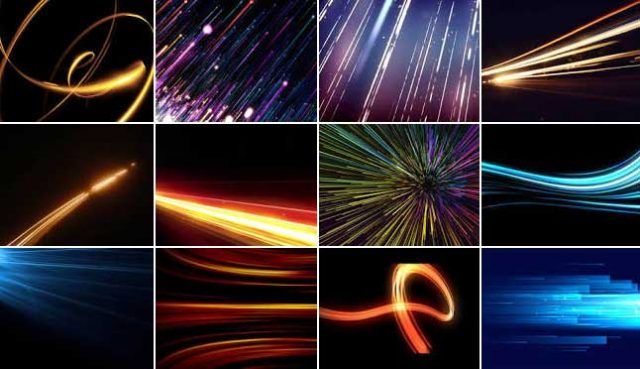 light streak examples
